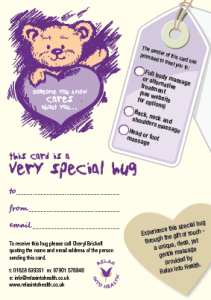 Send a Hug Gift Voucher